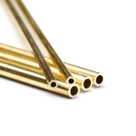 9ct Gold Tube