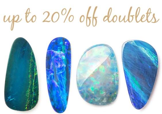 opal doublet sale