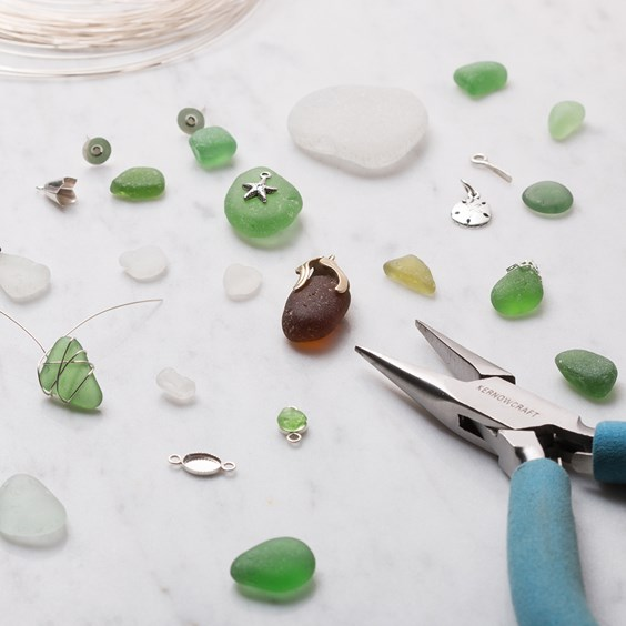 sea glass jewellery for beginners