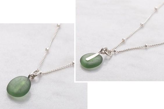 sea glass jewellery tutorial