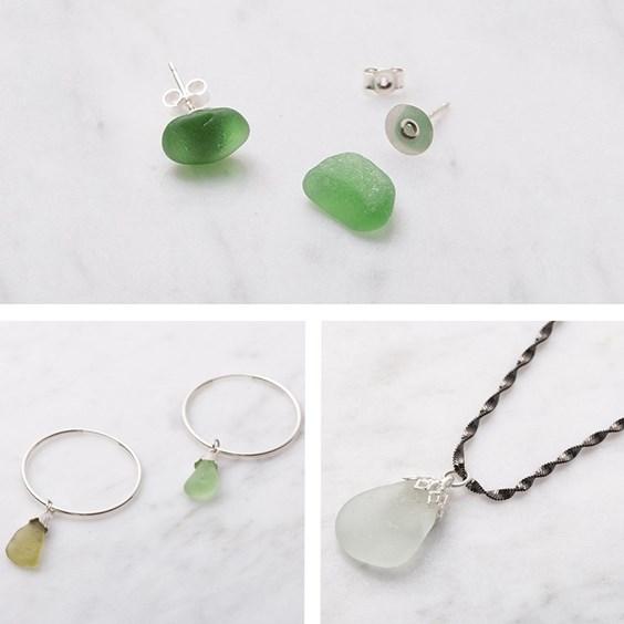 Beginner's Sea Glass Jewellery Creation Kit