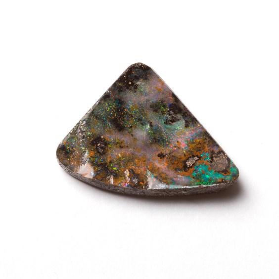 Australian Free Form Boulder Opal, Approx 18x15mm