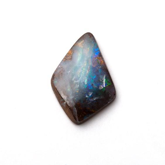 Australian Free Form Boulder Opal, Approx 23x16mm