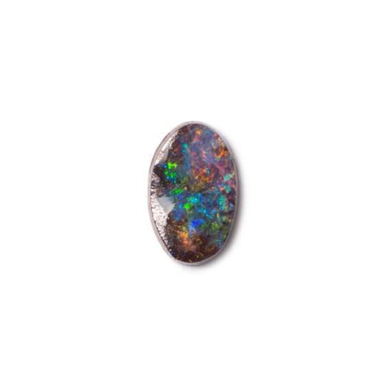 Australian Free Form Boulder Opal, Approx 11x6.5mm