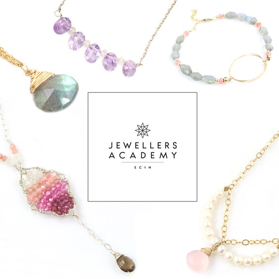 Jewellers Academy Kit: Gemstone & Wire Jewellery With Jessica Rose