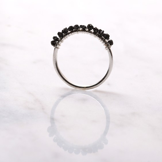 Diamond Nugget Ring