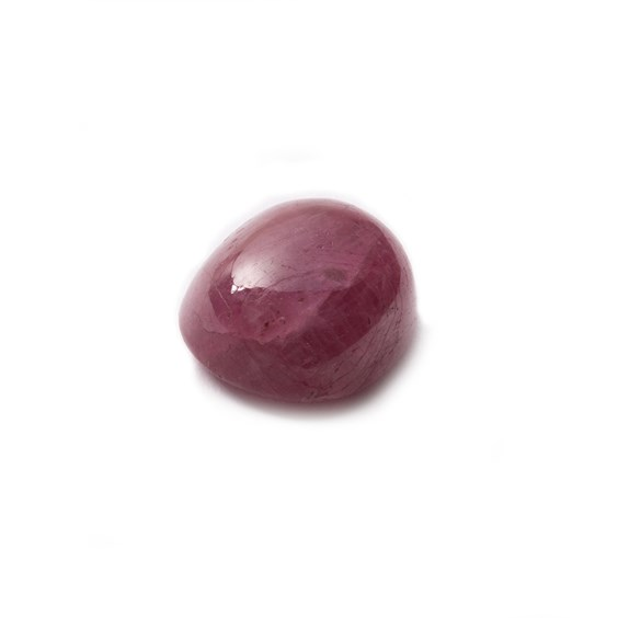 Ruby Cabochon, Approx 11x9mm Oval Shaped Stone