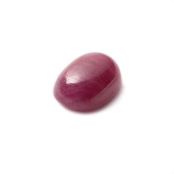 Ruby Cabochon, Approx 12x8mm Oval Shaped Stone