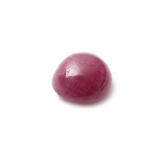 Ruby Cabochon, Approx 10.5x9mm Oval Shaped Stone