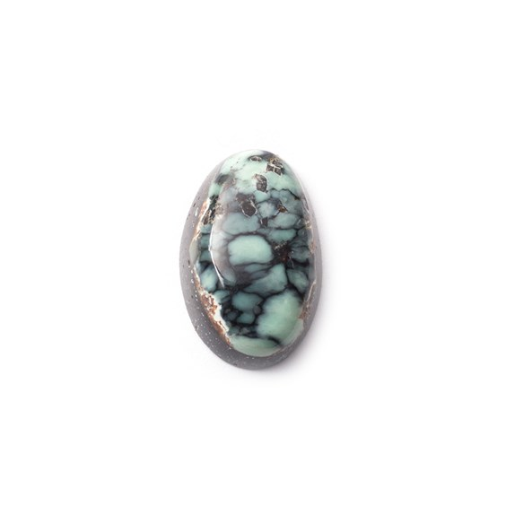New Lander Turquoise Cabochon, Approx 16.5x10.5mm