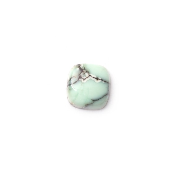 New Lander Turquoise Cabochon, Approx 8x7.5mm