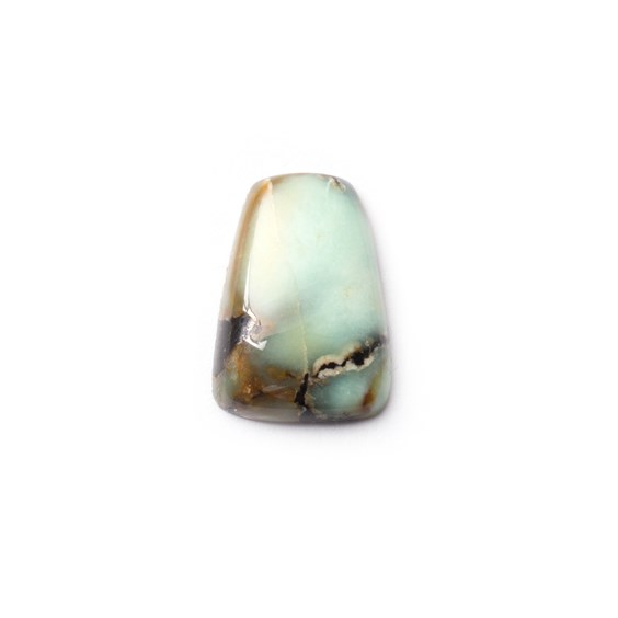 New Lander Turquoise Cabochon, Approx 15.5x10.5mm