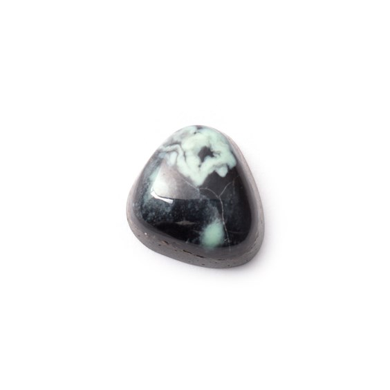 New Lander Turquoise Cabochon, Approx 14.5x13.5mm