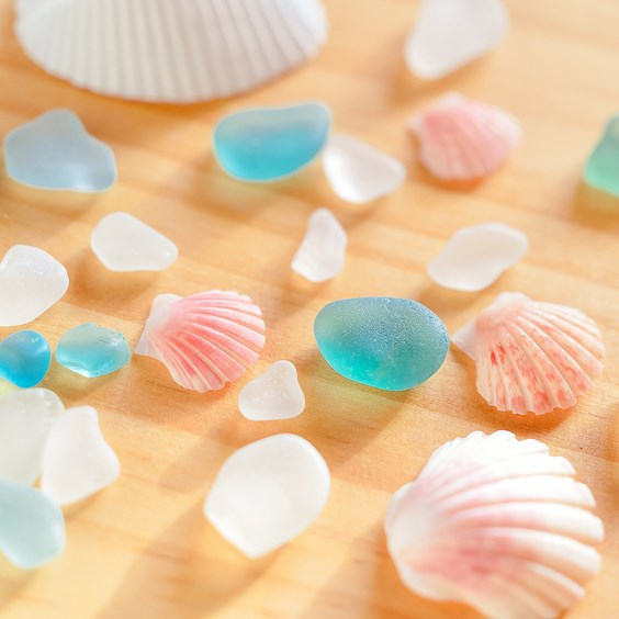 sea glass beaches in cornwall
