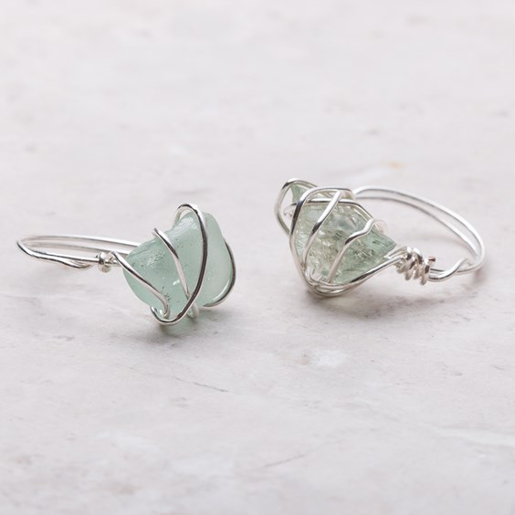 wire wrapped gemstone ring tutorial