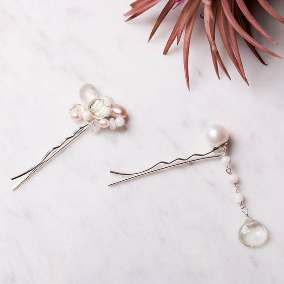 Pearl Cluster Hair Accessories