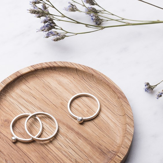 granulated stacking rings