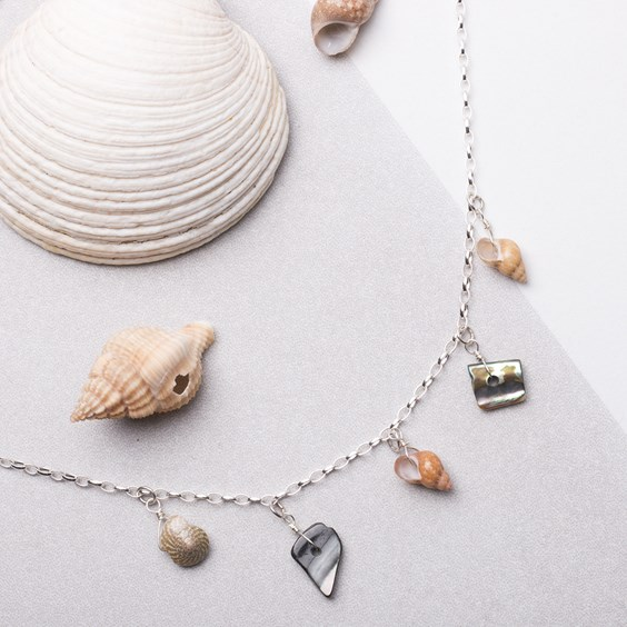 Shell Drop Necklace