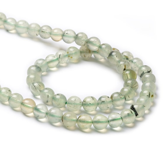Prehnite Round Beads
