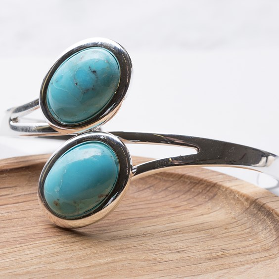 Turquoise Mosaic Bangle