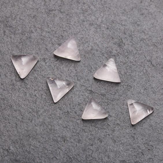 rose quartz cabochons