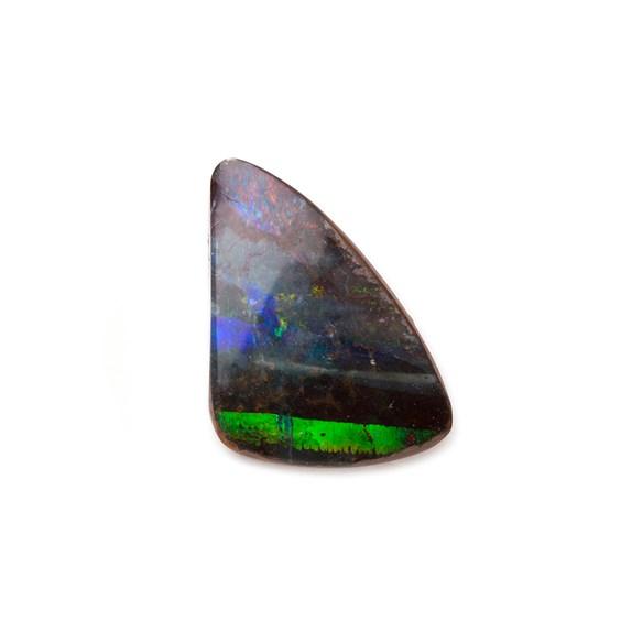Freeform Australian Boulder Opal, Approx 15x11.5mm