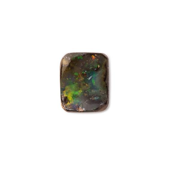 Freeform Australian Boulder Opal, Approx 7.5x6mm