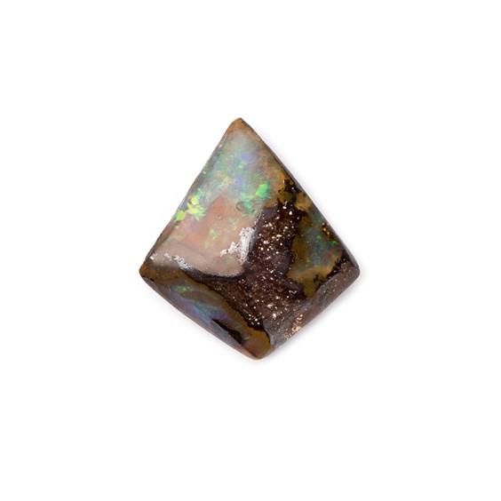 Freeform Australian Boulder Opal, Approx 13x12mm