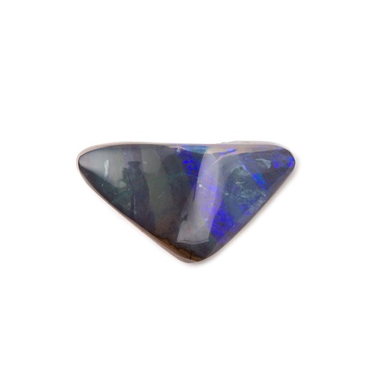 Freeform Australian Boulder Opal, Approx 19x10.5mm