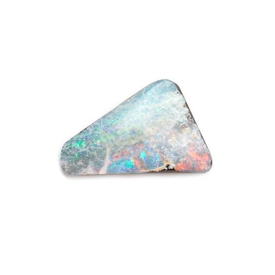 Freeform Australian Boulder Opal, Approx 15.5x11.5mm