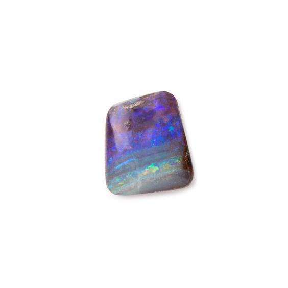 Freeform Australian Boulder Opal, Approx 10.5x9.5mm