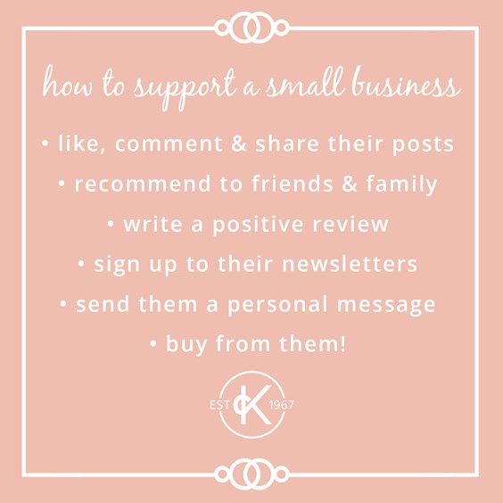 how to support small business