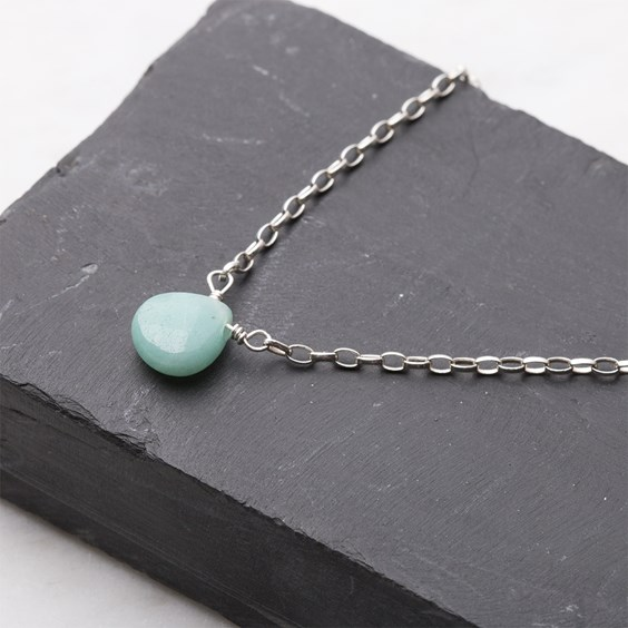Amazonite Briolette Necklace