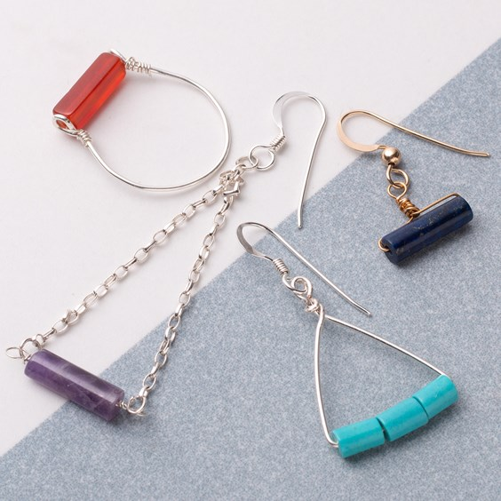 tube bead jewellery