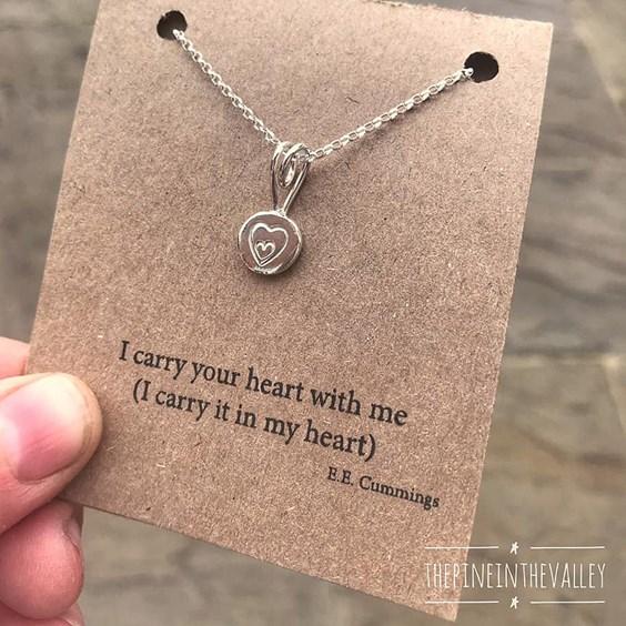 handmade heart jewellery