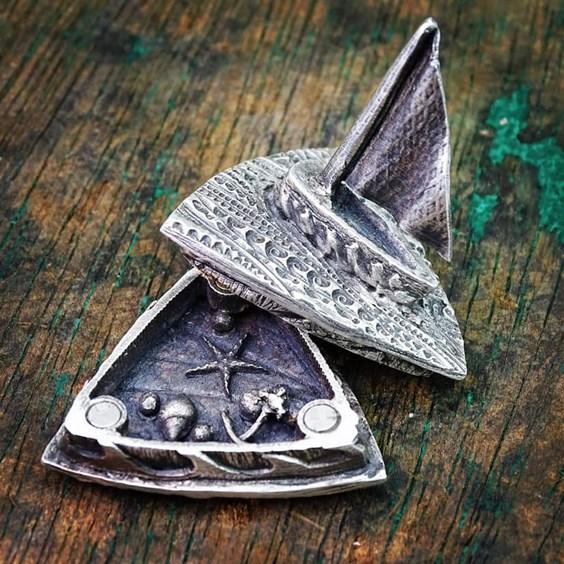 metal clay jewellery