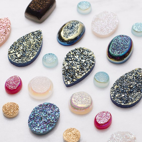 drusy gemstones
