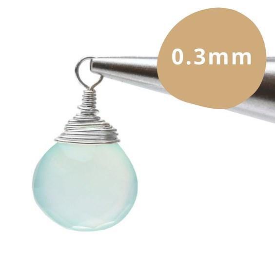 jewellery wire size