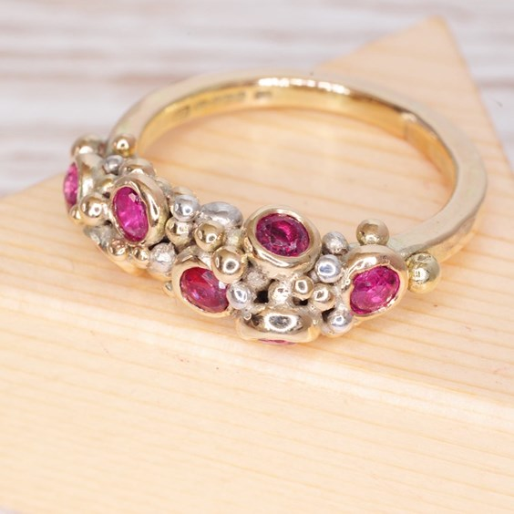 remodelling gemstone ring