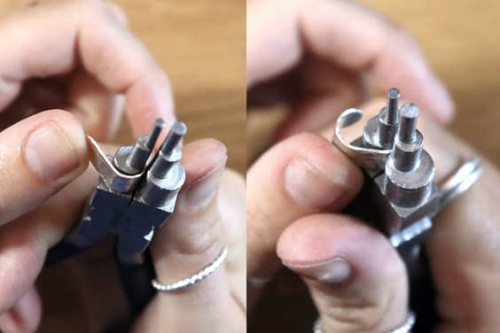 how to make earring cuff