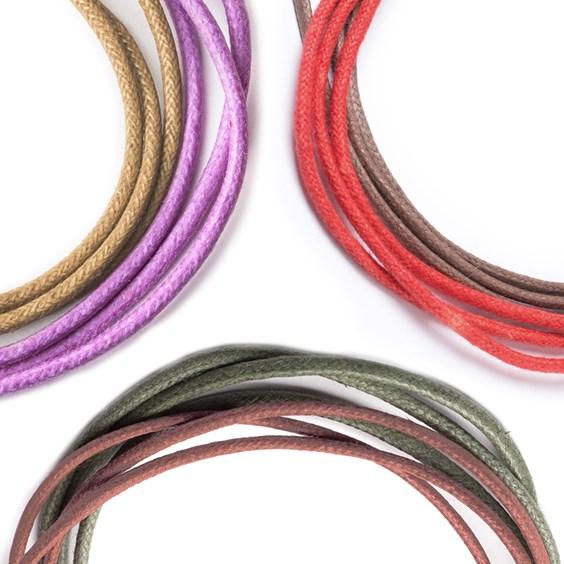Coloured Cotton Cord, 2mm