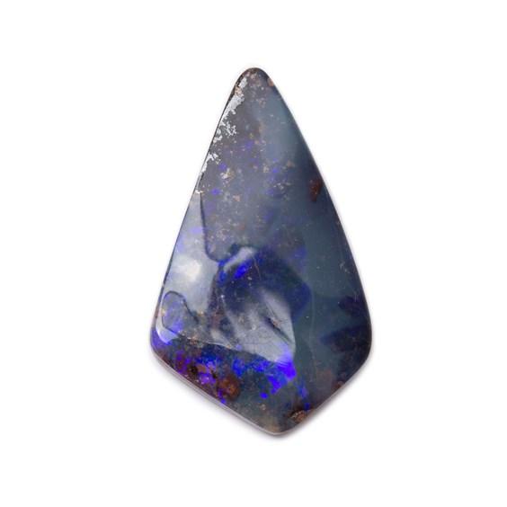 Freeform Australian Boulder Opal, Approx 23.5x14mm
