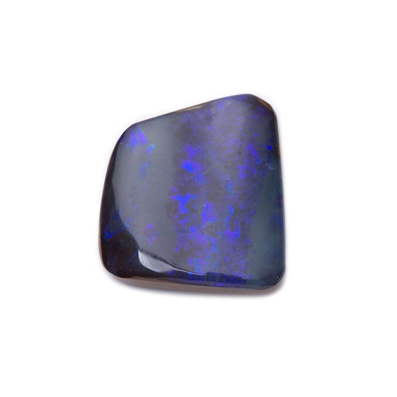 Freeform Australian Boulder Opal, Approx  12.5x11.5mm