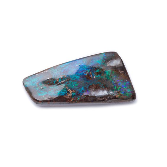 Freeform Australian Boulder Opal, Approx 20x9mm
