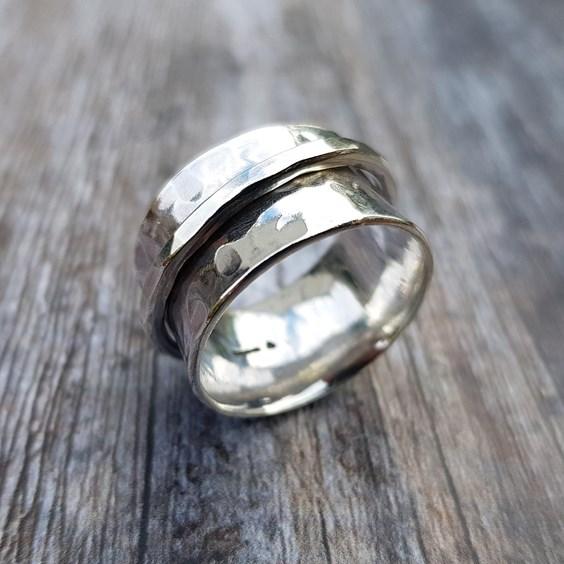 spinner ring tutorial