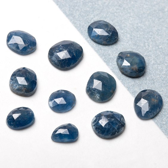 gemstone slices