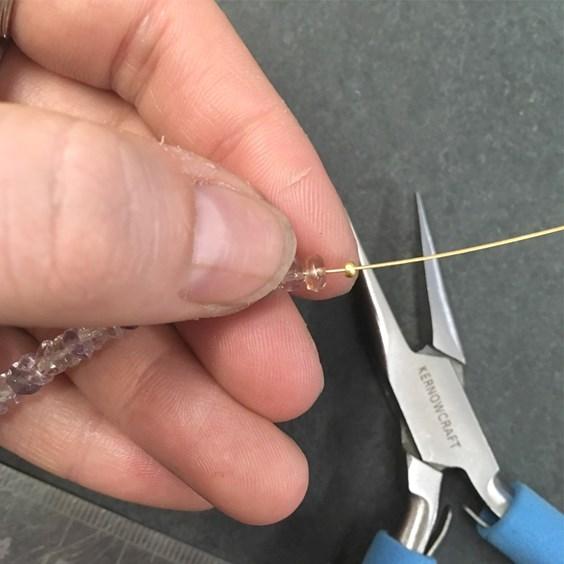 flexrite bead bracelet tutorial