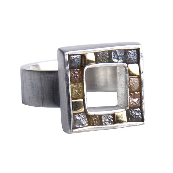 sally spencer gemstone ring