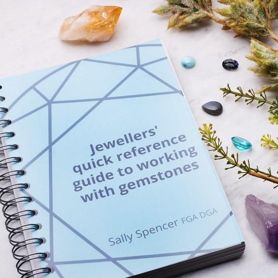 working with gemstones book