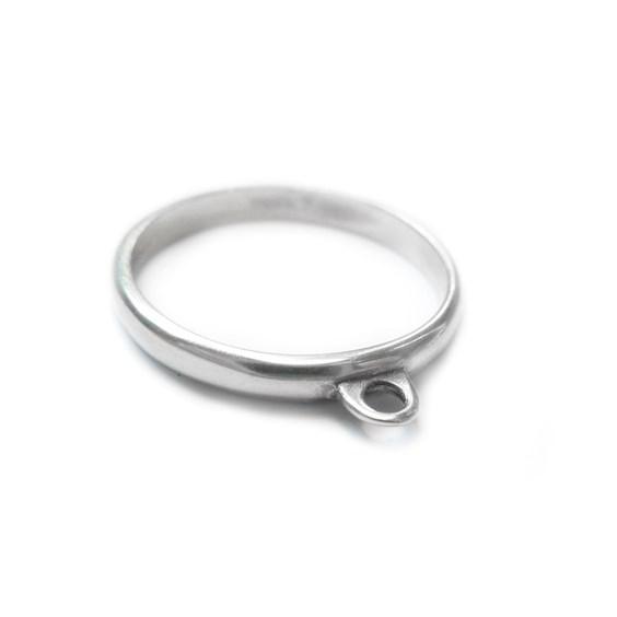 Sterling Silver Loop Ring